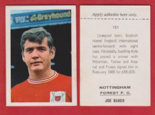 Nottingham Forest Joe Baker England 181